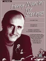 Henry Mancini for Strings, Volume 2 Sheet Music