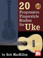 20 Progressive Fingerstyle Studies for Uke Sheet Music