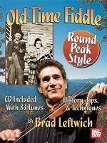 Old-Time Fiddle Round Peak Style Book/CD Set Sheet Music