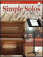 Simple Solos for Sunday Sheet Music