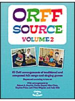 Orff Source, Volume 2 Sheet Music