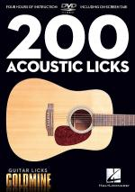 200 Acoustic Licks Sheet Music