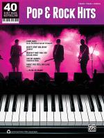 40 Sheet Music Bestsellers -- Pop & Rock Piano Sheet Music