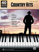 40 Sheet Music Bestsellers -- Country Hits Sheet Music