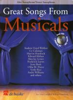 Great Songs From Musicals - Alto Saxophone/Tenor Saxophone (Book And CD) Sheet Music