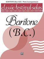Classic Festival Solos (Baritone B.C.), Volume 1 Sheet Music