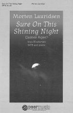 Sure on This Shining Night Sheet Music