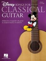 Disney Songs for Classical Guitar Sheet Music
