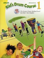 Alfred's Kid's Drum Course 1 (Book/CD) Sheet Music