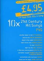 £4.95 - 10 21st Century Hit Songs Sheet Music