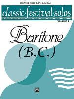 Classic Festival Solos (Baritone B.C.), Volume 2 Sheet Music