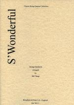 S'Wonderful (String Quartet) - Parts Sheet Music