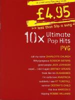 £4.95 - 10 Ultimate Pop Hits Sheet Music