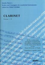 Scales And Arpeggios For Clarinet (Sparke ed.) Grades 1-8 Sheet Music
