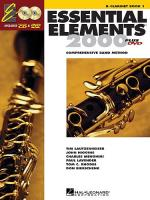 Essential Elements 2000: Clarinet Book 1 (DVD Edition) Sheet Music