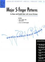 Achievement Skill Sheet No. 1: Major 5-Finger Patterns Sheet Music