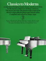 Classics To Moderns Book 3 Sheet Music
