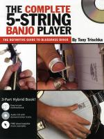 Tony Trischka: The Complete 5-String Banjo Player Sheet Music