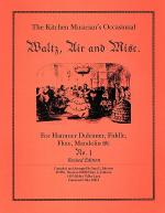 Waltz, Air and Misc. Sheet Music