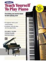 Alfred's Teach Yourself To Play Piano Sheet Music