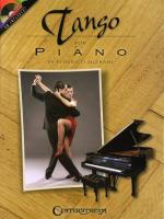 Tango For Piano Sheet Music