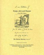 Songs, Airs & Dances of the 18th century Sheet Music
