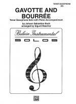 Gavotte and Bouree Sheet Music