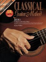 Progressive Classical Guitar Method (Book/CD) Sheet Music