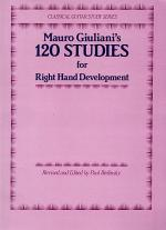120 Studies For Right Hand Development Sheet Music