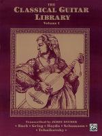 The Classical Guitar Library, Volume 1 Sheet Music