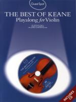 Guest Spot: The Best Of Keane -  Playalong For Violin Sheet Music