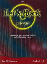Let's Rock (Violin) (Book and CD) Sheet Music