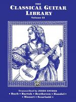 The Classical Guitar Library, Volume 2 Sheet Music