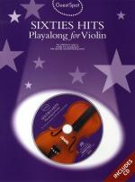 Guest Spot: Sixties Hits Playalong For Violin Sheet Music