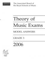 ABRSM Theory Of Music Examinations: Model Answers - Grade 3 (2006) Sheet Music