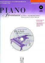 Piano Adventures Primer Level - Lesson Book CD Sheet Music