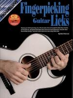 Progressive Fingerpicking Licks (Book/CD) Sheet Music