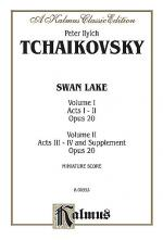 Swan Lake, Op. 20, Complete Ballet Sheet Music