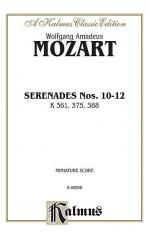 Serenades, K. 361, 375, 388 Sheet Music