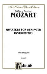 String Quartets K. 80, 155, 156, 157, 158, 159, 160, 168, 169, 170, 171, 172, 173 Sheet Music