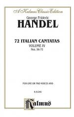 72 Italian Cantatas for Soprano or Alto, Nos. 56-72, Volume 4 Sheet Music