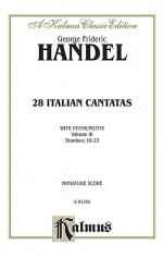 28 Italian Cantatas with Instruments, Volume 3 Sheet Music
