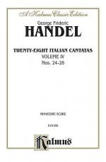 28 Italian Cantatas with Instruments, Nos. 24-28 (Mostly for Soprano), Volume 4 Sheet Music