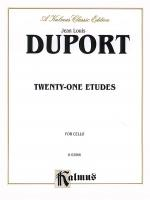 Twenty-one Etudes Sheet Music