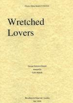 Wretched Lovers From Acis And Galatea (String Quartet) - Score Sheet Music