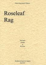 Roseleaf Rag (String Quartet) - Score Sheet Music