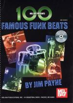 Jim Payne: 100 Famous Funk Beats For Drums Sheet Music