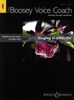 Mary King: Singing In English - High Voice (The Boosey Voice Coach) Sheet Music