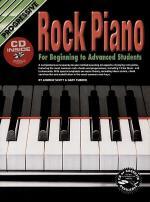 Progressive Rock Piano (Book/CD) Sheet Music