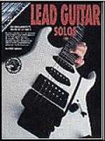 Progressive Lead Guitar Solos (Book/CD) Sheet Music